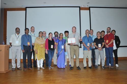 Presentation of the Research in Astronomy and Astrophysics (RAA) award during TMT Science Forum -Nov. 7-9, 2017