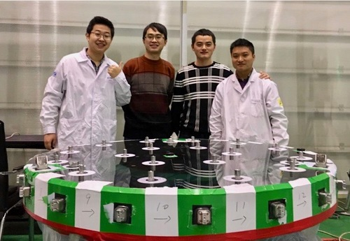 TMT Tertiary Mirror (M3) Engineers from Changchun Institute of Optics, Fine Mechanics, and Physics, China.