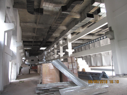 Attachment of Girders, for Crane