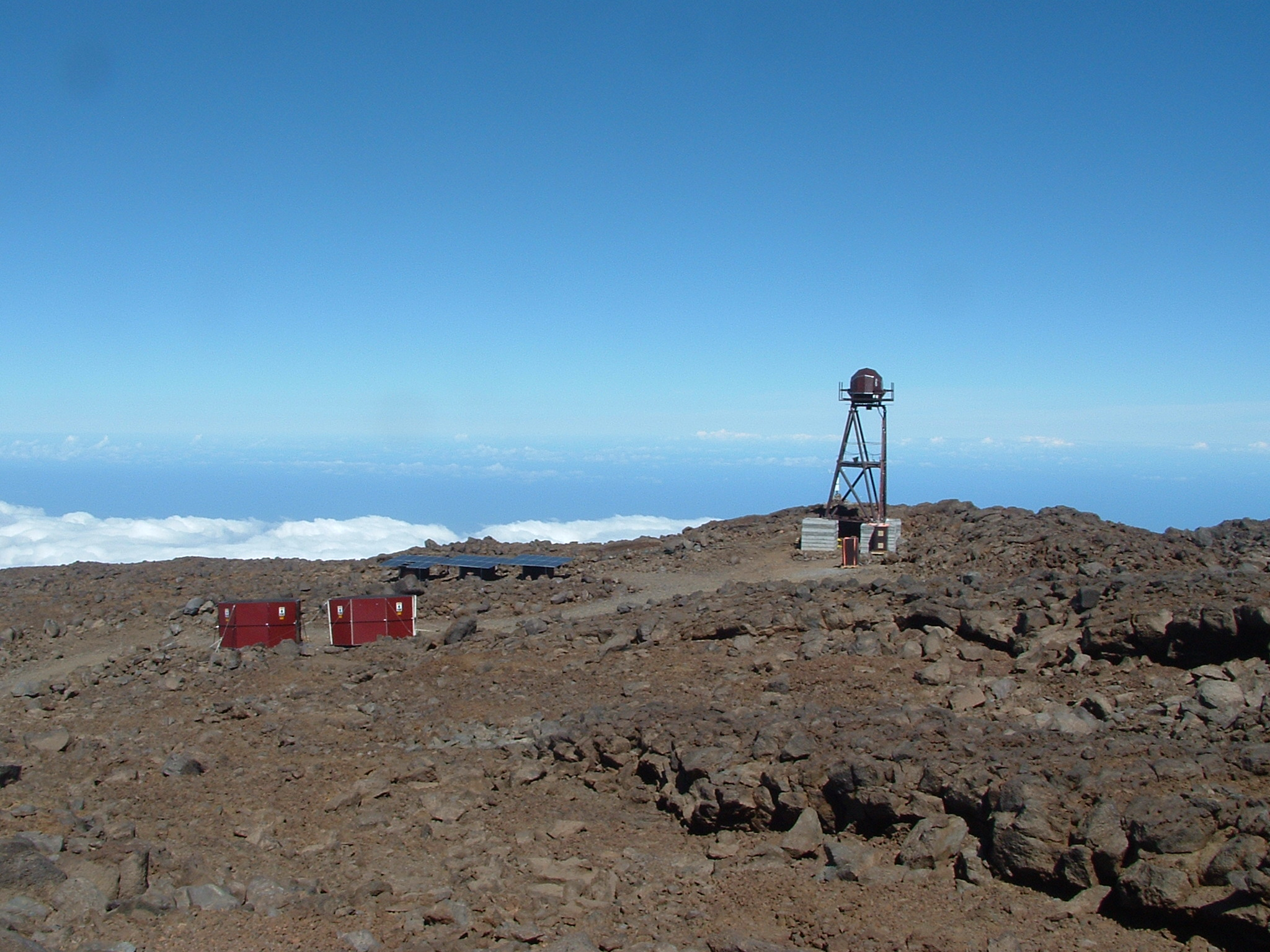 Site testing at Maunakea 13 North site - November 2005