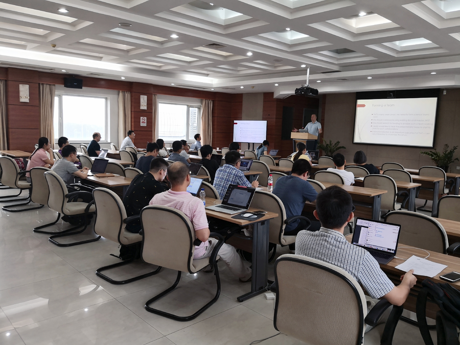 TMT-MICHI Workshop on thermal-IR Astronomy on July 16, 2018 at the National Astronomical Observatories of the Chinese Academy of Sciences.