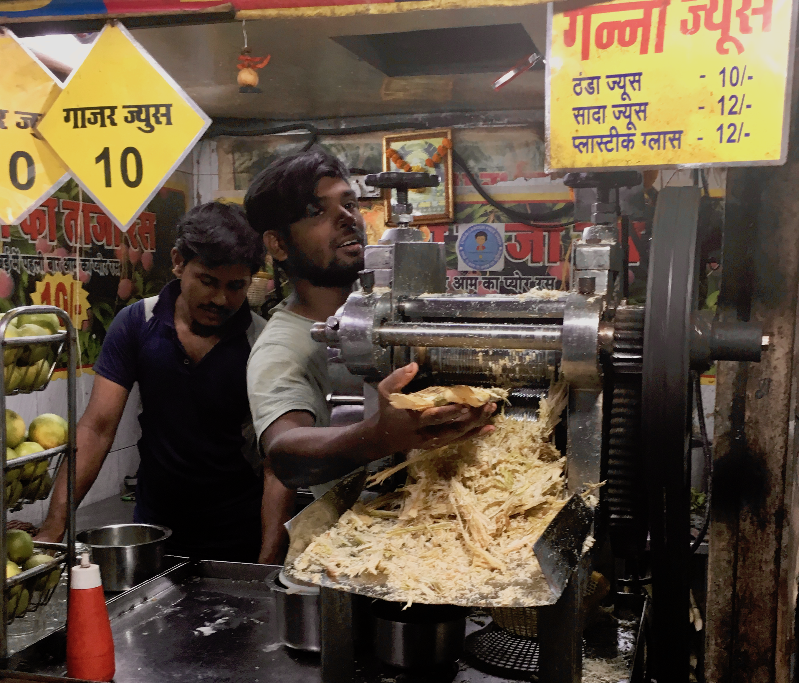 Juice vendor, Lower Parel, Mumbai