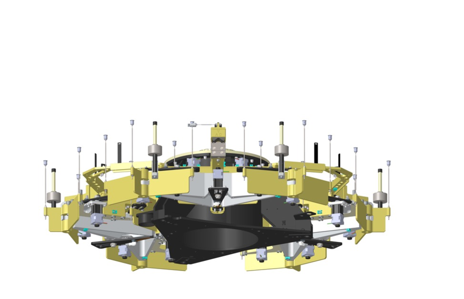 TMT Segment Support Assembly Module