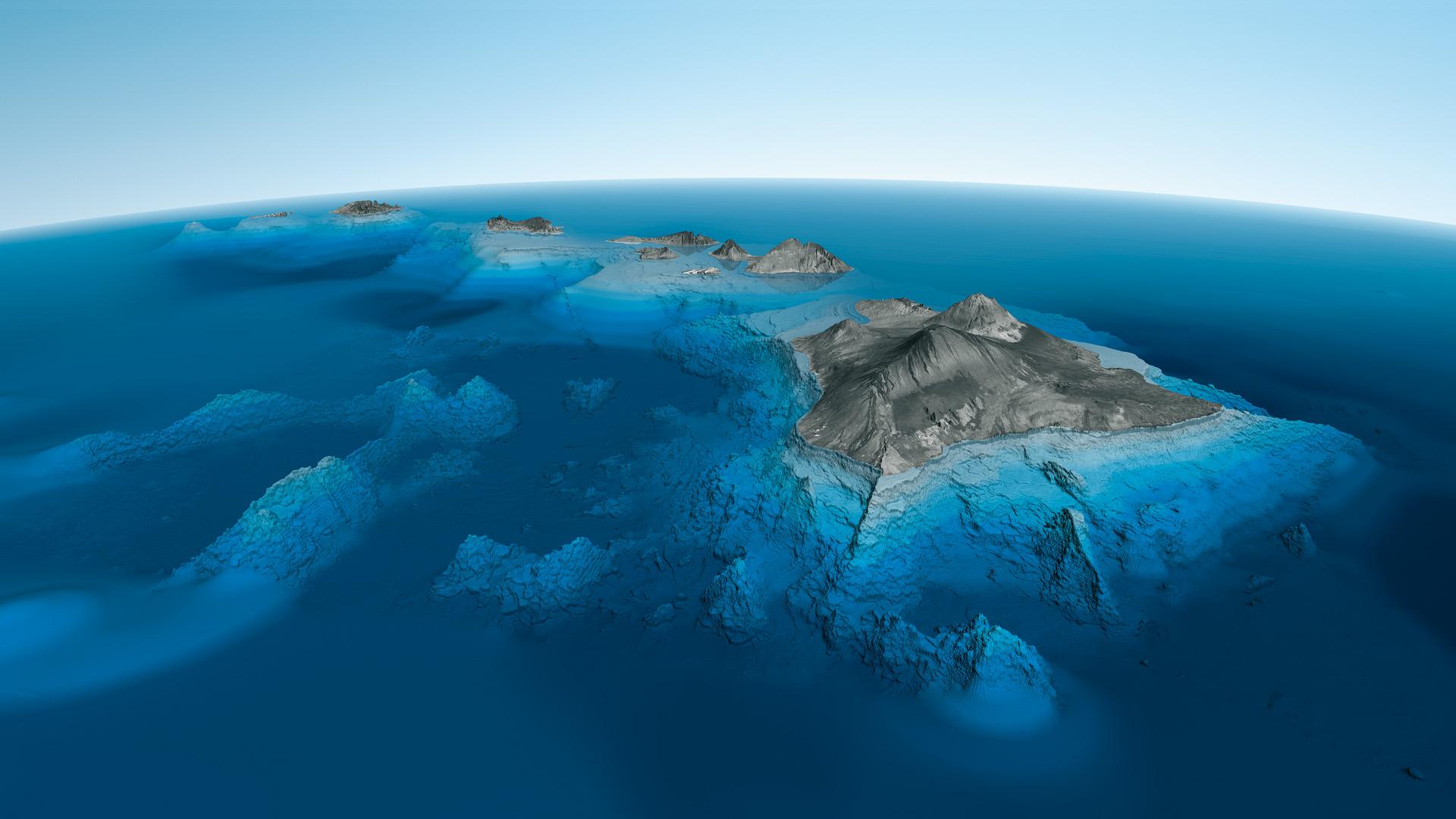 Dimensions Of Big Island Hawaii