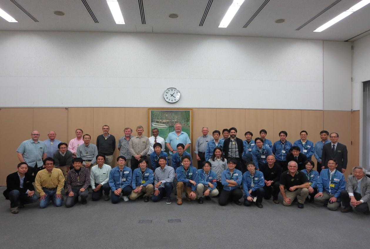 Tmt telescope structure review meeting participants at melco  japan